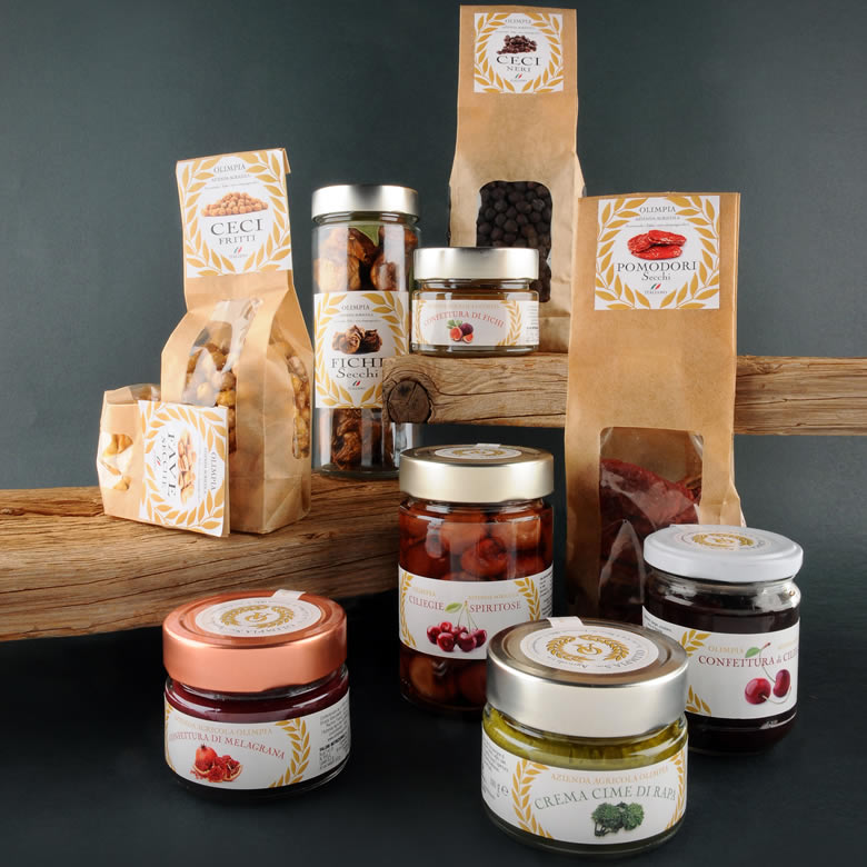 TYPICAL APULIAN PRODUCTS OLIMPIA